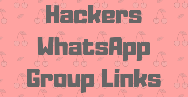 Hacking WhatsApp Group Links