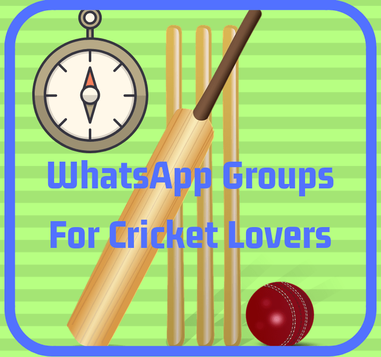 Cricket Lovers WhatsApp Group Links